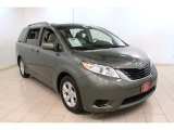 2012 Cypress Green Pearl Toyota Sienna LE #72706244
