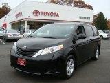2012 Black Toyota Sienna LE #72706345