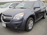 2013 Atlantis Blue Metallic Chevrolet Equinox LT AWD #72706224