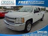 2012 Summit White Chevrolet Silverado 1500 LS Crew Cab #72706316