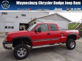 2004 Victory Red Chevrolet Silverado 1500 LT Extended Cab 4x4 #72705947
