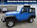 2012 Cosmos Blue Jeep Wrangler Sport 4x4 #72705946