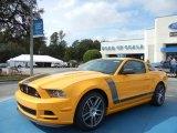 2013 School Bus Yellow Ford Mustang Boss 302 Laguna Seca #72705830