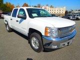 2013 Summit White Chevrolet Silverado 1500 LT Crew Cab 4x4 #72706298