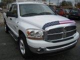 2006 Bright White Dodge Ram 1500 SLT Quad Cab 4x4 #72766906