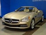 2012 Mercedes-Benz SLK Pearl Beige Metallic