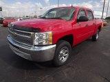 2013 Victory Red Chevrolet Silverado 1500 LS Crew Cab #72766507