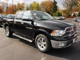 2012 Dodge Ram 1500 Laramie Quad Cab 4x4 Data, Info and Specs