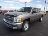 2013 Graystone Metallic Chevrolet Silverado 1500 LT Crew Cab 4x4 #72766503
