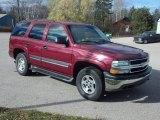 2005 Sport Red Metallic Chevrolet Tahoe LS 4x4 #72766891
