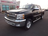 2013 Fairway Metallic Chevrolet Silverado 1500 LT Crew Cab 4x4 #72766502