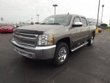2013 Graystone Metallic Chevrolet Silverado 1500 LT Crew Cab 4x4 #72766500