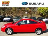 2007 Victory Red Chevrolet Cobalt LS Coupe #72766215