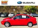 2005 Infra-Red Ford Focus ZX4 SE Sedan #72766214