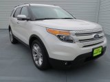 2013 White Platinum Tri-Coat Ford Explorer Limited #72766368