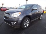 2013 Atlantis Blue Metallic Chevrolet Equinox LTZ #72766485