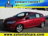 2012 Red Candy Metallic Ford Focus SE Sport 5-Door #72766869