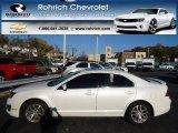 2010 White Platinum Tri-coat Metallic Ford Fusion SEL #72766864