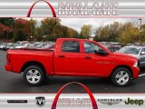 2012 Flame Red Dodge Ram 1500 Express Crew Cab 4x4 #72766051