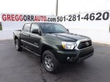Spruce Green Mica Toyota Tacoma in 2013