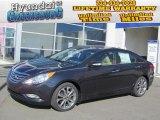 2013 Pacific Blue Pearl Hyundai Sonata Limited 2.0T #72765930