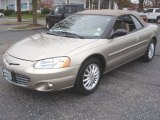 2002 Light Almond Pearl Metallic Chrysler Sebring LXi Convertible #72766028