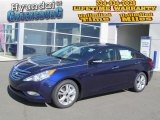2013 Indigo Night Blue Hyundai Sonata Limited #72765918
