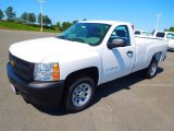 2012 Summit White Chevrolet Silverado 1500 Work Truck Regular Cab #72766586