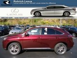 2013 Claret Red Mica Lexus RX 450h AWD #72766334