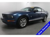 2006 Vista Blue Metallic Ford Mustang V6 Deluxe Coupe #72765902