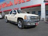 2012 White Diamond Tricoat Chevrolet Silverado 1500 LT Crew Cab #72766145