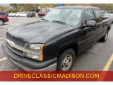 2004 Dark Green Metallic Chevrolet Silverado 1500 Work Truck Extended Cab #72766565