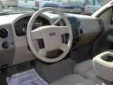 2005 Ford F150 XLT SuperCab 4x4 Dashboard