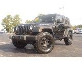 2010 Black Jeep Wrangler Rubicon 4x4 #72766550