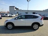 2013 White Diamond Pearl Honda CR-V EX-L AWD #72766653