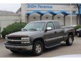 2000 Charcoal Gray Metallic Chevrolet Silverado 1500 Z71 Extended Cab 4x4 #72766802