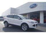 2013 White Platinum Metallic Tri-Coat Ford Escape Titanium 2.0L EcoBoost #72766276