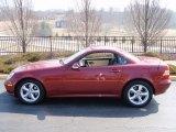 2001 Mercedes-Benz SLK Firemist Metallic