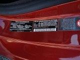 2001 SLK Color Code for Firemist Metallic - Color Code: 548