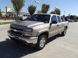2006 Sandstone Metallic Chevrolet Silverado 1500 Z71 Extended Cab 4x4 #72826784