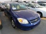 2007 Laser Blue Metallic Chevrolet Cobalt LS Coupe #72826975