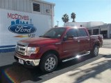 2013 Ruby Red Metallic Ford F150 XLT SuperCrew #72826661