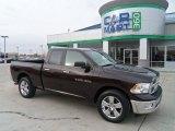 2011 Rugged Brown Pearl Dodge Ram 1500 Big Horn Quad Cab 4x4 #72826836