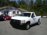 2008 Summit White Chevrolet Silverado 1500 Work Truck Regular Cab #72826934