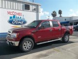 2013 Ruby Red Metallic Ford F150 XLT SuperCrew 4x4 #72826653