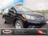 2013 Crystal Black Pearl Honda CR-V LX AWD #72826551