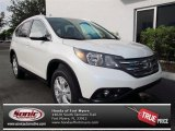 2013 White Diamond Pearl Honda CR-V EX-L AWD #72826550
