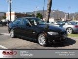 2010 Jet Black BMW 3 Series 328i Sedan #72826749