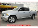 2012 Bright Silver Metallic Dodge Ram 1500 Lone Star Crew Cab #72826819