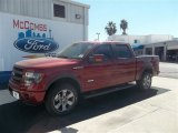 2013 Ruby Red Metallic Ford F150 FX4 SuperCrew 4x4 #72826648
